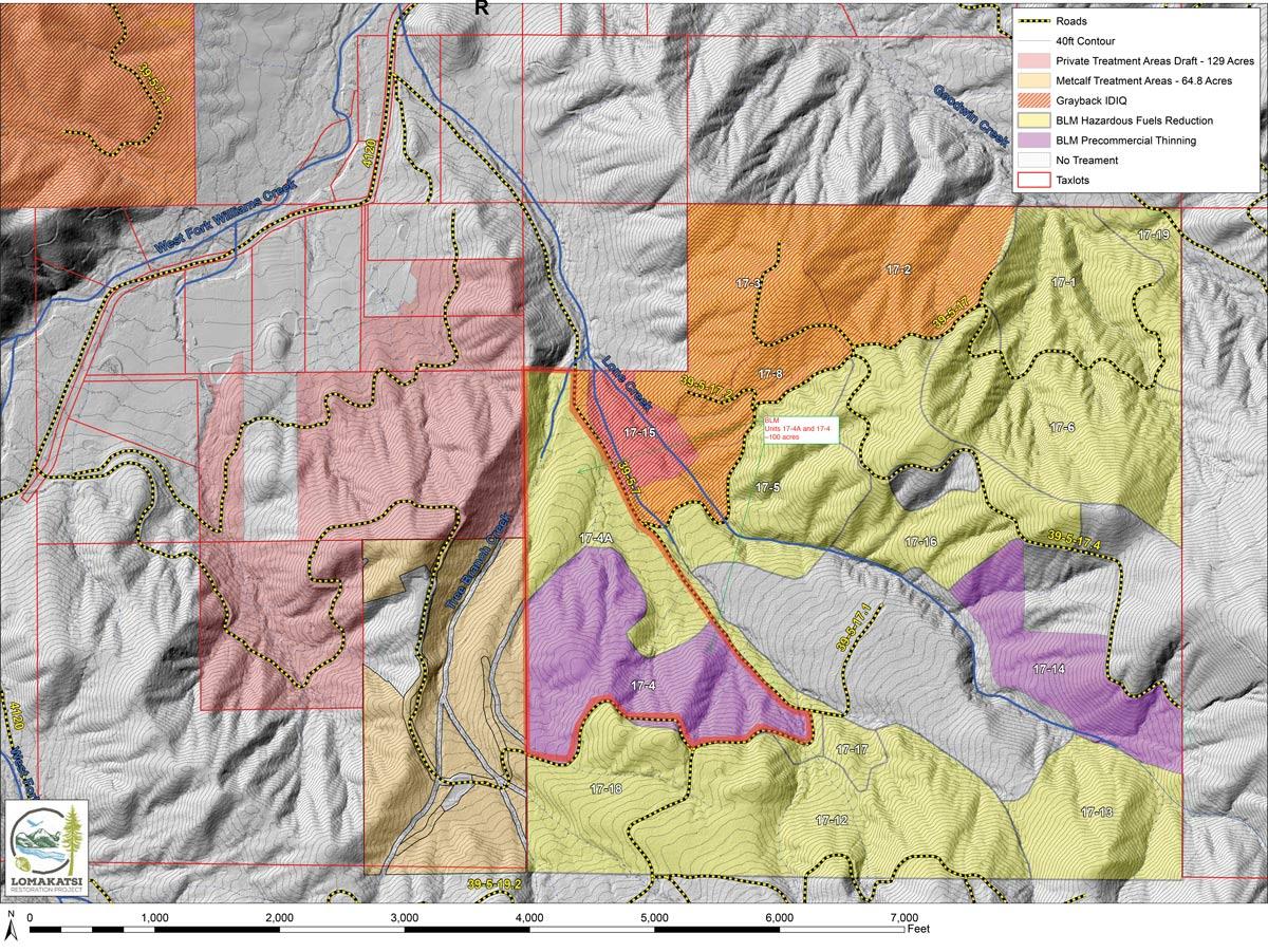 Rogue Forest Partners' Williams Project Area near Williams, Oregon